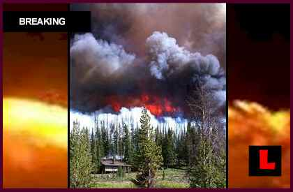 Wyoming Wildfires Map Expands with Fontenelle Fire, Oil Creek Fire