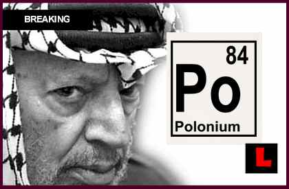 Yasser Arafat Polonium 210 Prompts Cause of Death Doubt, Exhumation poisoning poison