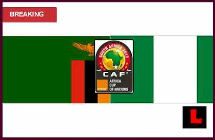 score live results  Zambia vs. Nigeria 2013: Africa Cup of Nations Ignites Group C