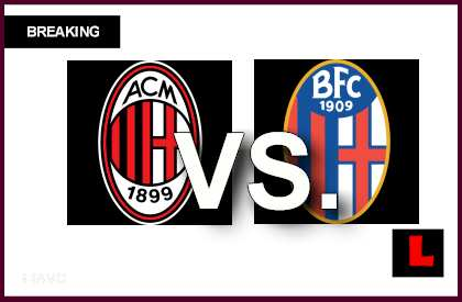 AC Milan vs. Bologna 2014 Score Heats up Soccer Battle en vivo live score results today