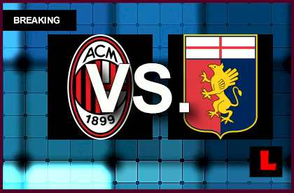 AC Milan vs. Genoa 2014 Score Delivers Soccer Battle live score results