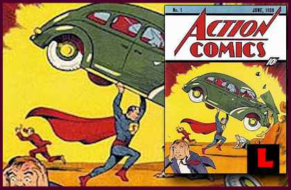 Superman Action Comics No. 1 Found in Home Insulation Gets Tornl