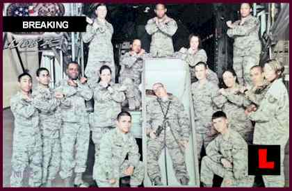 Air Force Casket Photo 2011 Prompts Controversy for 37th Training Group