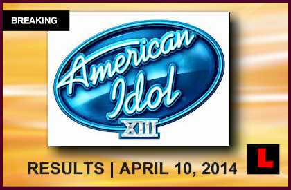 American Idol 2014 Results Elimination Tonight Reveal Top 7 April 10, 2014