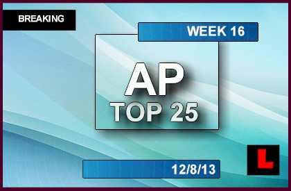 football college score week 16 football schedule