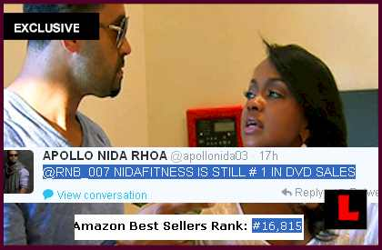 Apollo Nida, Phaedra Parks Divorce Denial Prompts #1 DVD?  EXCLUSIVE l