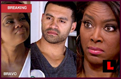 Apollo Nida, Phaedra Parks Marriage is Strained, claims Kenya Moore