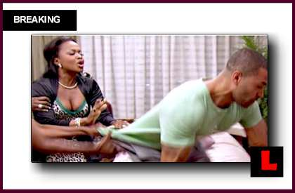 Apollo Nida RHOA Fight Not Defended by Phaedra Parks
