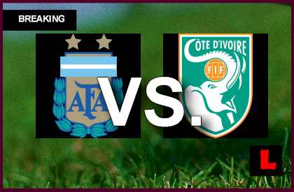 Argentina vs. Ivory Coast 2013 Battles for Score in Copa Mundial U17 en vivo live score results today