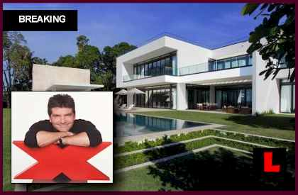 Simon Cowell Fakes Alex Rodriguez Miami Mansion on X-Factor