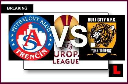 AS Trencin vs Hull City 2014 Score Delivers UEFA Europa League Results