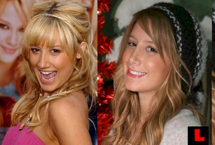 ashley tisdale nose job images