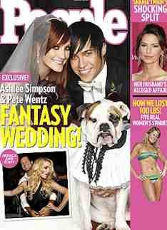 ashlee simpson wedding pics