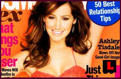 Ashley Tisdale Cosmo