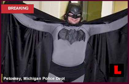 Batman Charged: Mark Wayne Williams Arrested in Petoskey