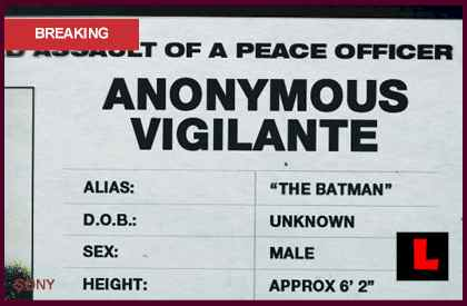 Batman Police Report from The Dark Knight Prompts Scavenger Huntl