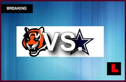 Bengals vs. Cowboys 2013: Andy Dalton Battles Tony Romo live score results below