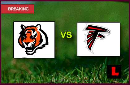 Bengals vs. Falcons 2013: Bryant Scores Early Tonight live score results