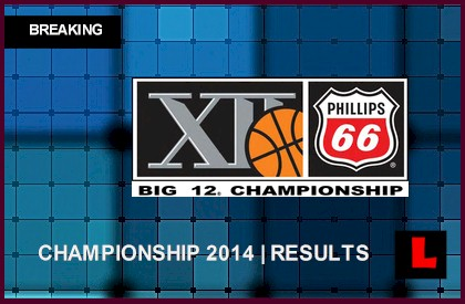 Big 12 Men's Basketball Tournament 2014 Results: Oklahoma State Wins