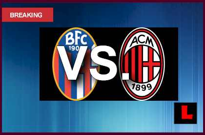 Bologna vs AC Milan 2013 Prompts Wednesday Soccer Showdown en vivo live score results today
