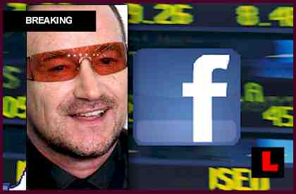 Bono Facebook Net Worth Surges From Elevation Partners Stake