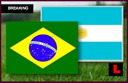 en vivo score Brazil vs. Argentina 2012 Deliver Soccer Rematch Tonight
