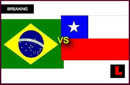 Brazil vs Chile 2013 Battles in Soccer Friendly Tonight en vivo live score results