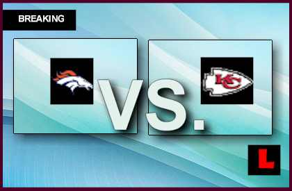 Broncos vs. Chiefs 2013: Knile Davis Scores 100 Yard TD live score results channel today game