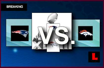 Patriots vs. Broncos 2014 Score Lead by Peyton Manning into Third live score results today