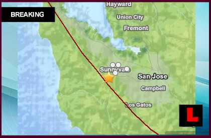 California Earthquake Today 2014 Strikes Near San Jose