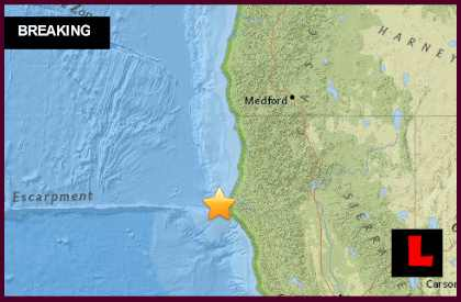California Earthquake 2015 Today Strikes Ferndalel