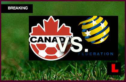 Canada vs Australia 2013: Kennedy Scores Early in First Half en vivo live score results today
