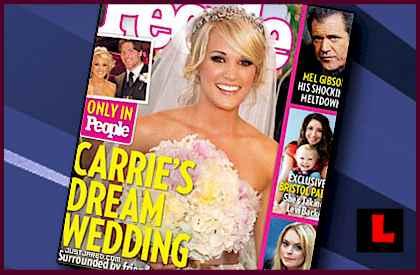 Carrie Underwood Wedding PHOTOS