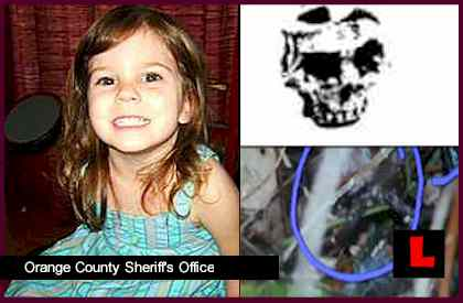 Caylee Anthony Crime Scene Photos Suggests Death Wasn't Accidental skull