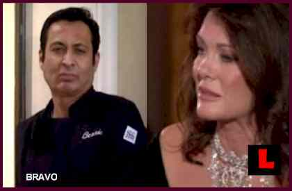 Chef Bernie Guzman (of Adrienne Maloof) Dishes on Lisa Vanderpump