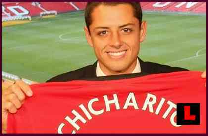 Chicharito - Manchester United Pushing Javier Hernandez Branding