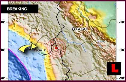 Chile Earthquake Today 2012, Terremoto, Felt in Santiago and Peru