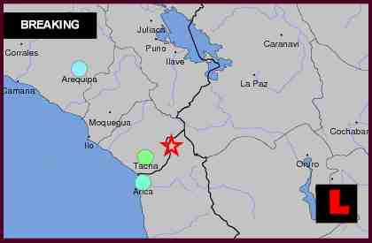 Chile, Peru Earthquake Today 2012 Erupts, Terremoto Felt Across Region