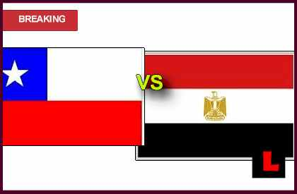 en vivo score results live soccer Chile vs Egypt 2013 Battle in Soccer from Madrid