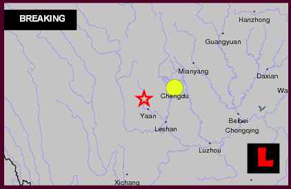 China Earthquake Today 2013 6.9 Strikes Outside Laos, Taiwan, Vietnam