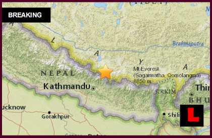 China Earthquake Today 2015 Strikes as Nepal Earthquake Aftershock 4/2