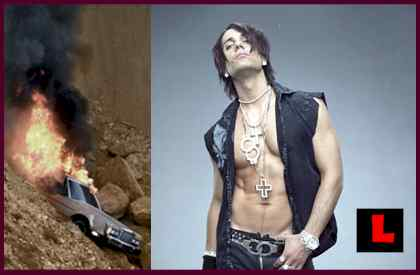 Criss Angel Not Dead - Car Wreck Explosion Scene Still Baffles Viewers