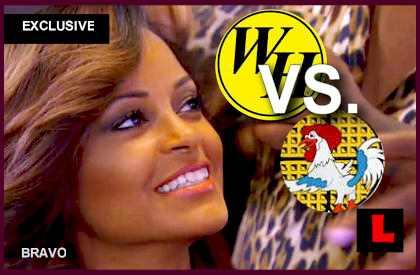 Claudia Jordan Wings Kordell Stewart Episode with Waffle Wars: EXCLUSIVE