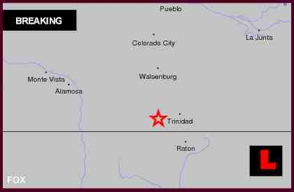 Colorado Earthquake Today 2012 Felt in New Mexico