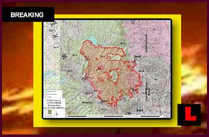 Colorado Fire Map Battles Containment as Waldo Canyon Fire Spreads Saturday