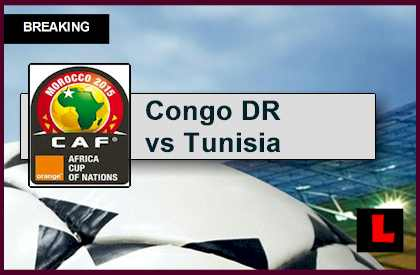 Congo DR vs Tunisia 2015 Score Delivers Africa Cup of Nations Results