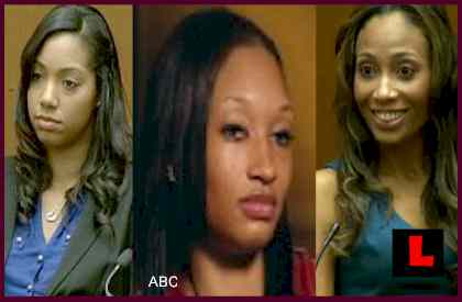 Nicole Alvarez, Sade Anding, Bridgette Morgan Photos  - Dr. Conrad Murray Women Detailed in Trial