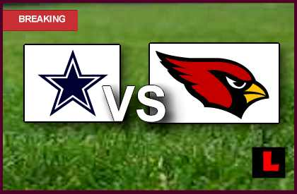 Cowboys vs. Cardinals 2013: Feely Scores Field Goal in First  quarter live score results