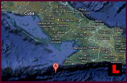 Cuba Earthquake, Terremoto, Today Felt in Cayman Islands