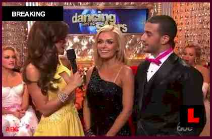 Dancing with the Stars Results Tonight 2012 Prompt Katherine Jenkins Slip